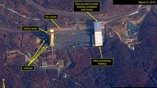 Ảnh vệ tinh: Bãi phóng tên lửa Sohae của Bắc Triều Tiên.