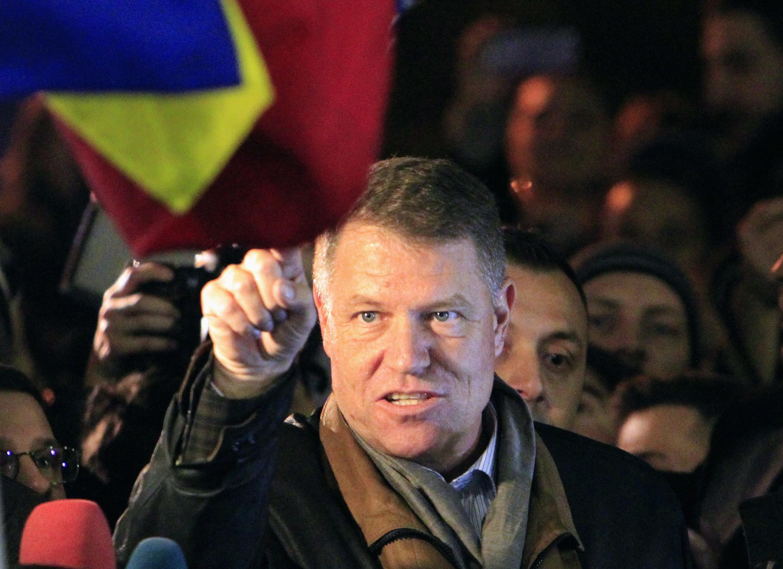 Klaus Iohannis salió vencedor en los comicios presidenciales de Rumania.
