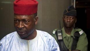 Le général Siaka Toumani Sangaré, chef de la mission d'audit de l'OIF sur fichier électoral en RDC.
