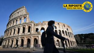 Le Colisée, à Rome, le 10 mars 2020.