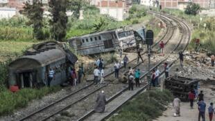 در اثر تصادف ٢ قطار مسافربری در تاریخ جمعه ۲۰ مرداد/ ۱۱ اوت ٢٠۱٧، که یکی از قاهره و دیگری از پورت سعید به سمت اسکندریه در حرکت بودند، بیش از ٤٠ نفر کشته شدند.