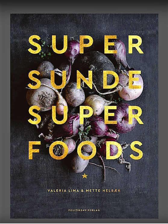 Valéria Lima gostaria de lançar o livro Supersunde Superfoods também no Brasil.