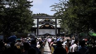 The Yasukuni shrine honours some 2.5 million war dead, mostly Japanese, but also senior military and political figures convicted of war crimes