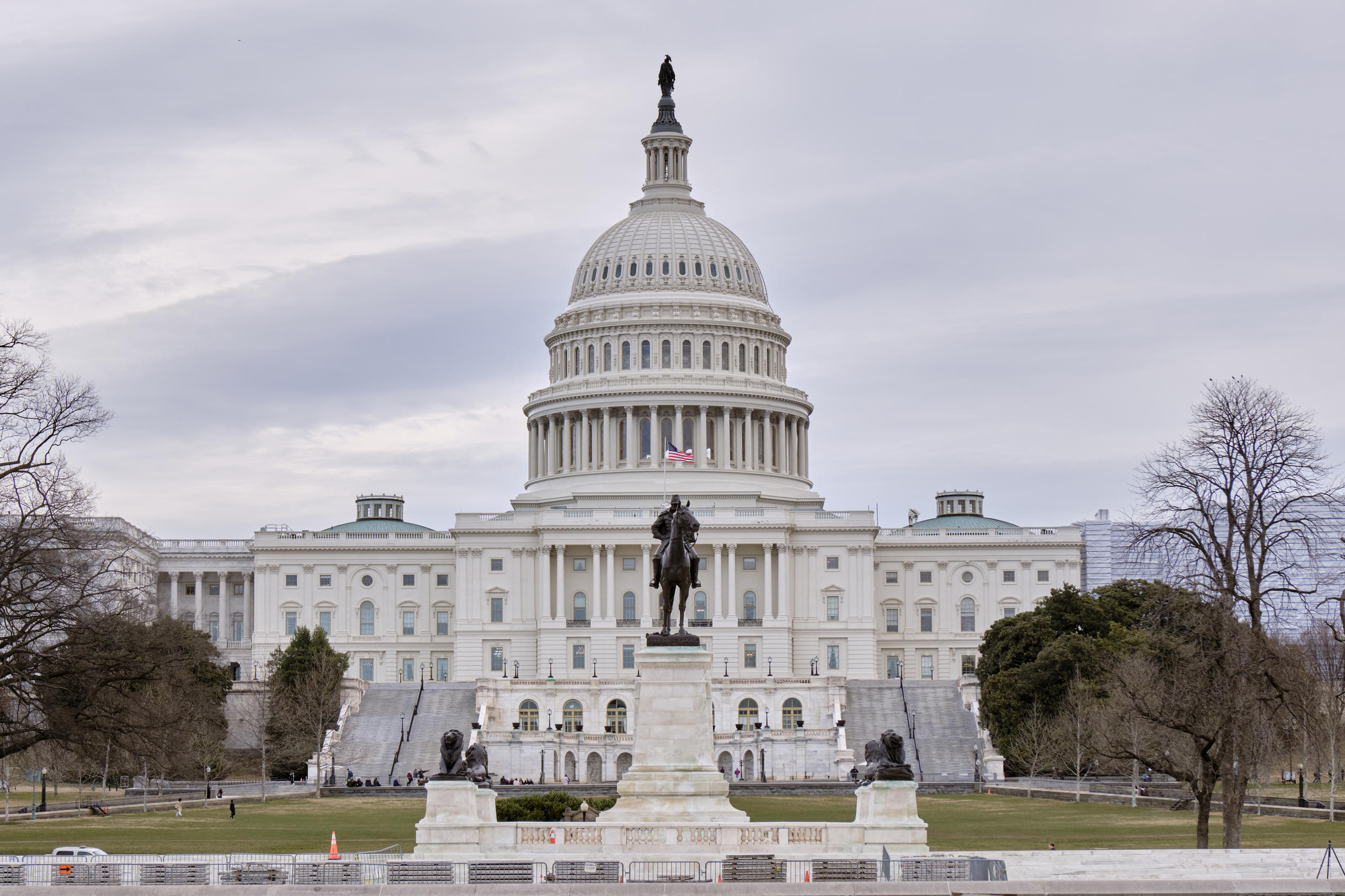 The US Capitol, where on 6 January 2021 Congress will count the votes cast by the electors cast three weeks earlier.