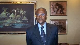 Ousmane Tanor Dieng, secrétaire général du parti socialiste soutient le président sortant Macky Sall à la présidentielle.