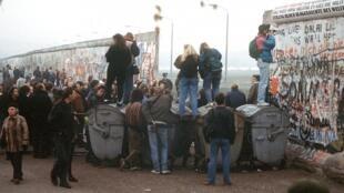 Берлин в 1989 году
