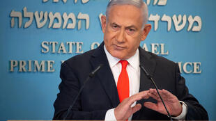 Israeli Prime Minister Benjamin Netanyahu announced the government decision to impose a three-week lockdown in a televised statement