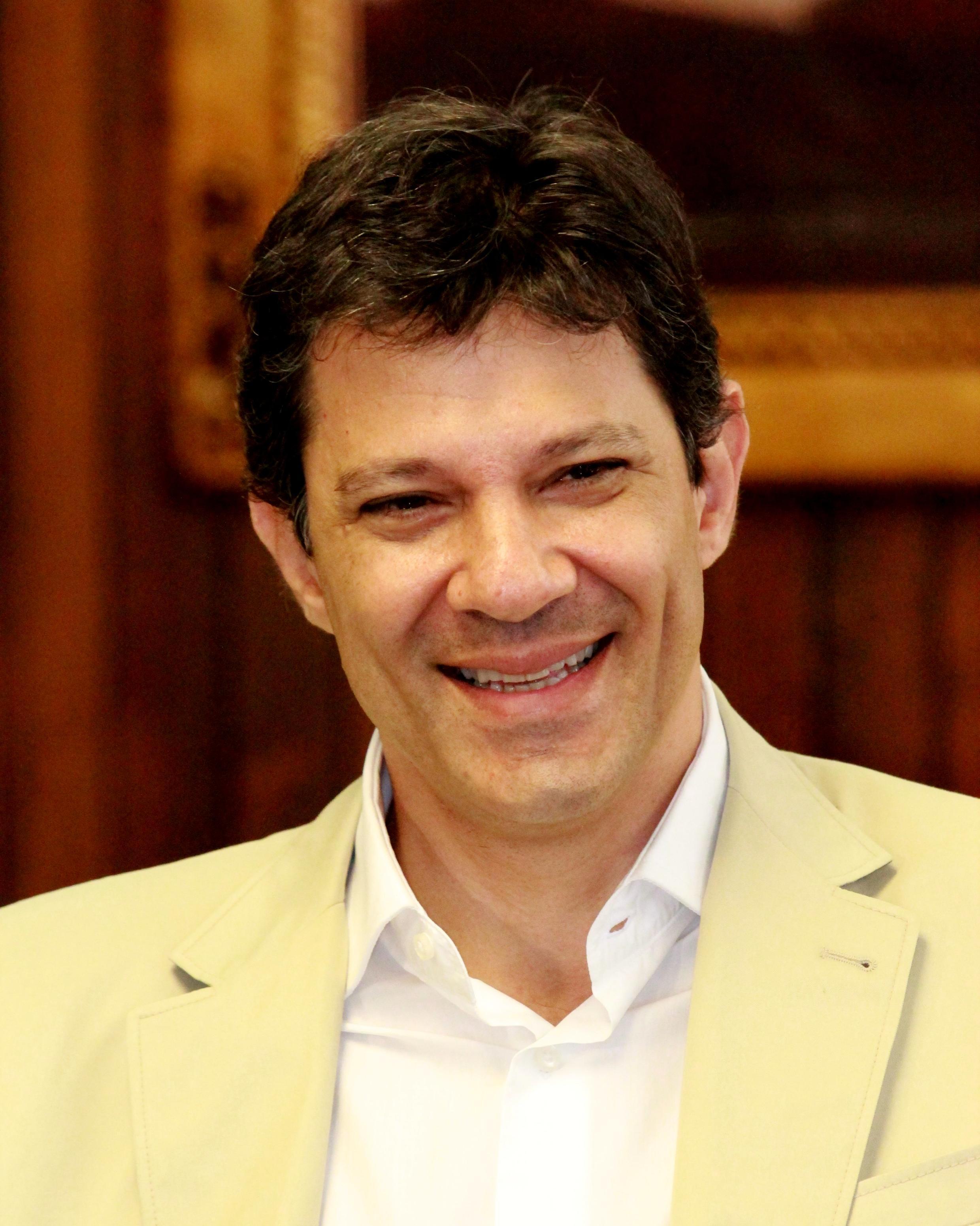 """O prefeito de São Paulo, Fernando Haddad: """"Não há derrota em uma disputa como essa"""""""