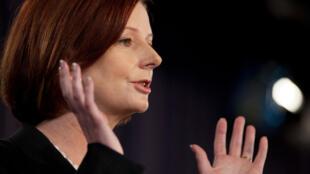 Prime Minister Julia Gillard has given Thomson full backing