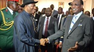 Shugaba Goodluck Jonathan da Shugaba Chadi Idriss Déby