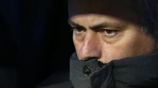 Técnico do Real Madri, José Mourinho.