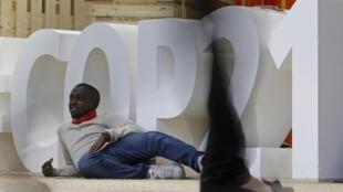 Les jeunes ont investi la grande tente «Générations climat», en marge de la COP21