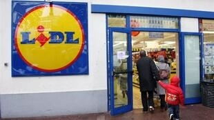 A Lidl supermarket near Paris