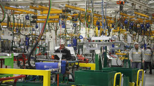 Francia: fábrica de automóviles Renault, el 9 de febrero de 2012.