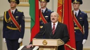 ប្រធានាធិបតីបេឡារុស លោកAlexandre Loukachenko
