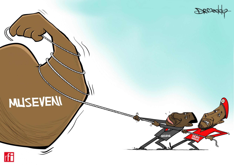 Uganda: Wanasisasa wawili wa upinzani Kizza Besigye na Robert Kyagulanyi waungana kumwondoa madarakani rais Yoweri Museveni (Mei 9 2019)