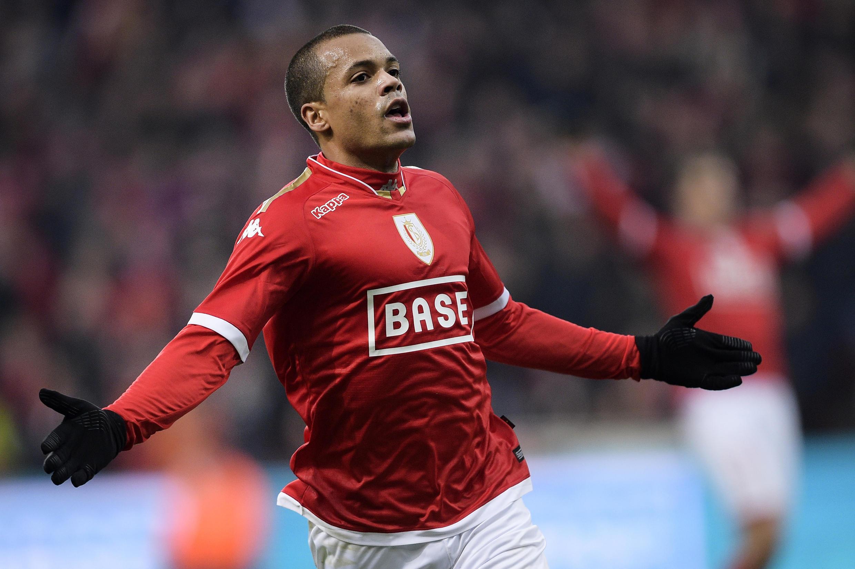 Matthieu Dossevi sous les couleurs du Standard de Liège.