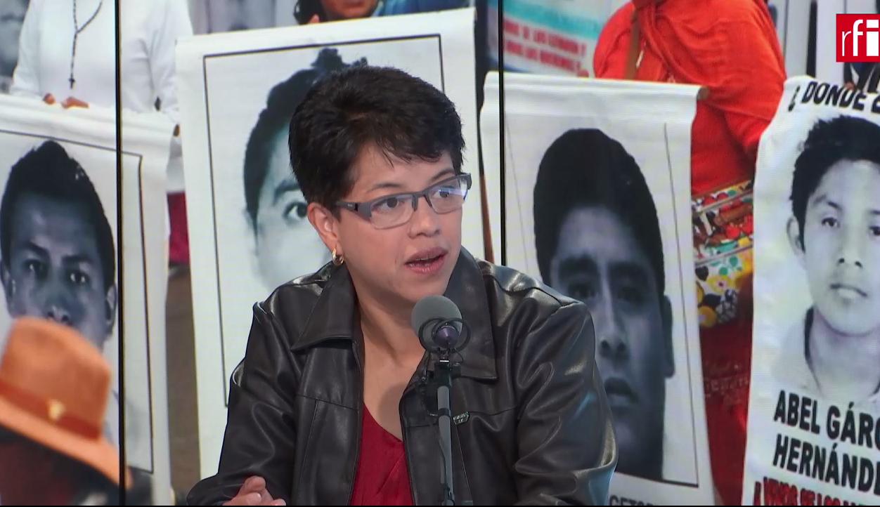 Liliana Velázquez es presidenta de Amnistía Internacional México.