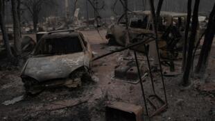 Dans l'Oregon, les incendies ont ravagé 400 000 hectares de terres.