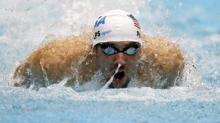 Vận động viên bơi nổi tiếng người Mỹ Michael Phelps