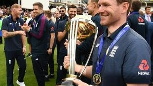 Holders - England, led by captain Eoin Morgan, are the reigning men's 50-over World Cup champions after winning the 2019 edition on home soil