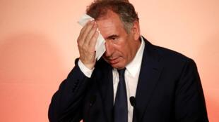 MoDem leader François Bayrou
