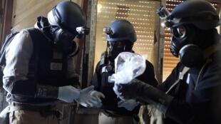 Wataalam wa silaha za kemikali nchini Syria