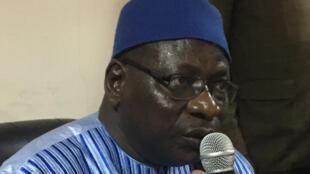 IMAGE Théophile Bongoro, candidat de l'opposition tchadienne pour la présidentielle d'avril 2021.