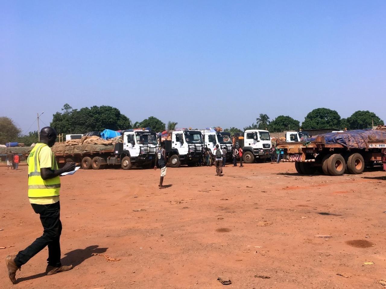 Les douanes à Bangui, en Centrafrique.