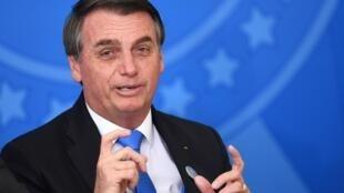 Presidente Jair Bolsonaro vai discursar na Assembleia-geral da ONU, em Washington. Foto de 29/08/2019
