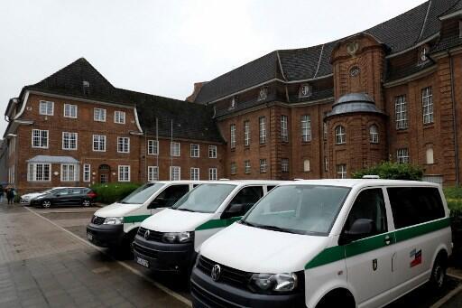 La prison de Kiel, en Allemagne, où est incarcéré le suspect dans la disparition de la petite Madeleine McCann.