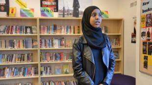 Fahma, une ado déterminée qui a reçu le prix de Militante de l'année.