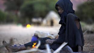 Une femme âgée au Niger.