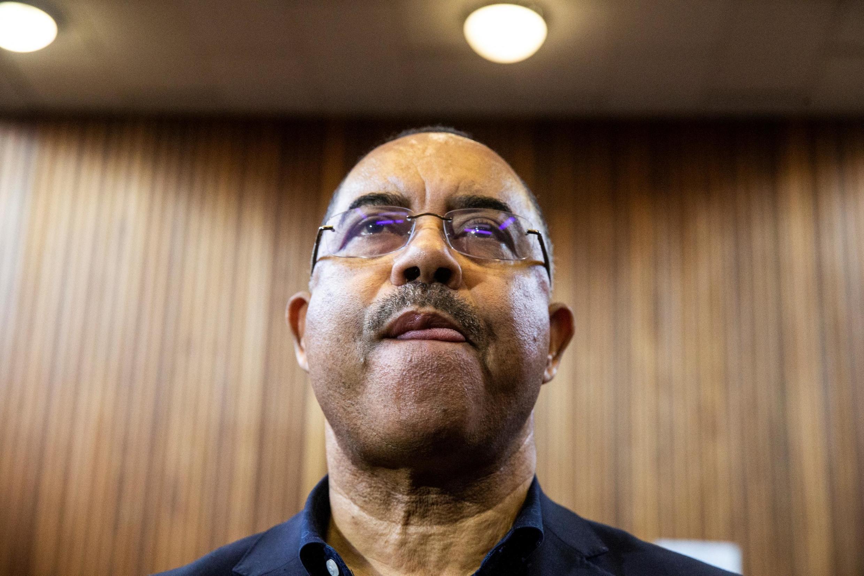 Manuel Chang, antigo ministro das Finanças de Moçambique. 8 de Janeiro de 2019. Tribunal de Kempton Park, África do Sul.