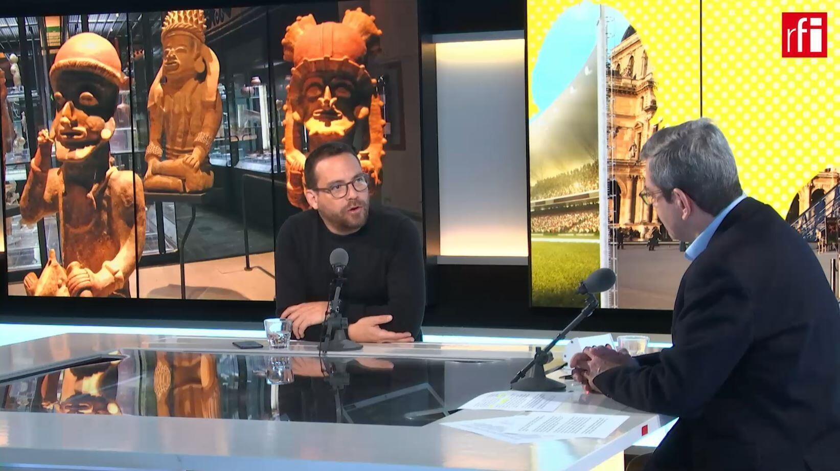 El ministro de Cultura y Patrimonio de Ecuador, Juan Fernando Velasco, invitado de Escala en Paris del 12 febrero 2020