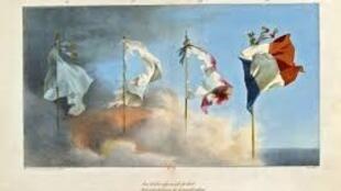 Bandeira nacional francesa, saída da revolução francesa de 1789, em tempo de debate sobre a identidade em França