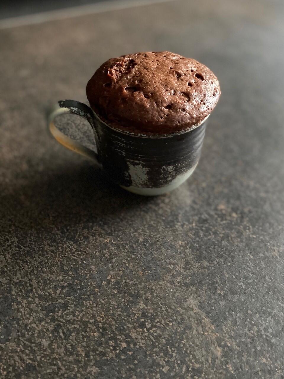 El volcán de chocolate de la chef Isabela Losada.