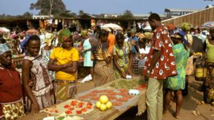 Un marché de Libreville. (Photo d'illustration)