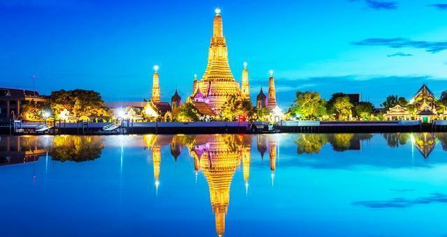 圖為泰國旅遊景色照片