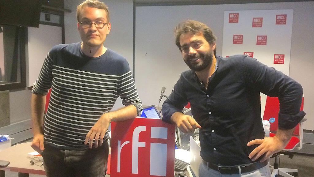 Jean-Marie Pottier et Tarek Kai.