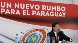 O presidente do Paraguai, Horacio Cartes