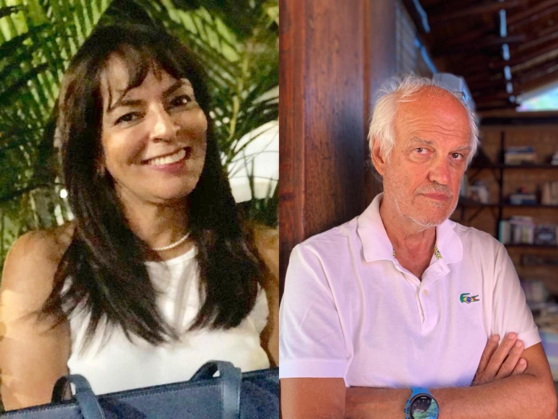 A cirurgiã-dentista Telma Lúcia Mota de Castro e o publicitário Roberto Coimbra