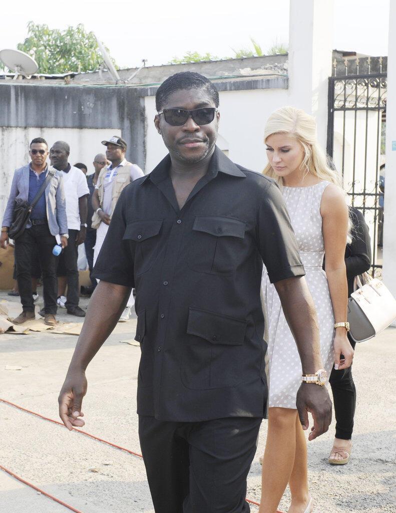 Teodorin Obiang Nguema, em 2014 em Malabo, na Guiné equatorial.