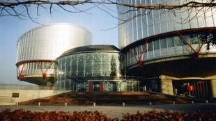Le Palais des droits de l'homme à Strasbourg, qui abrite la Cour européenne des droits de l'homme.