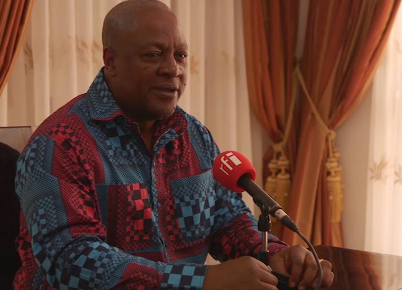Shugaban Ghana John Mahama a tattaunawa da Radiyon  RFI