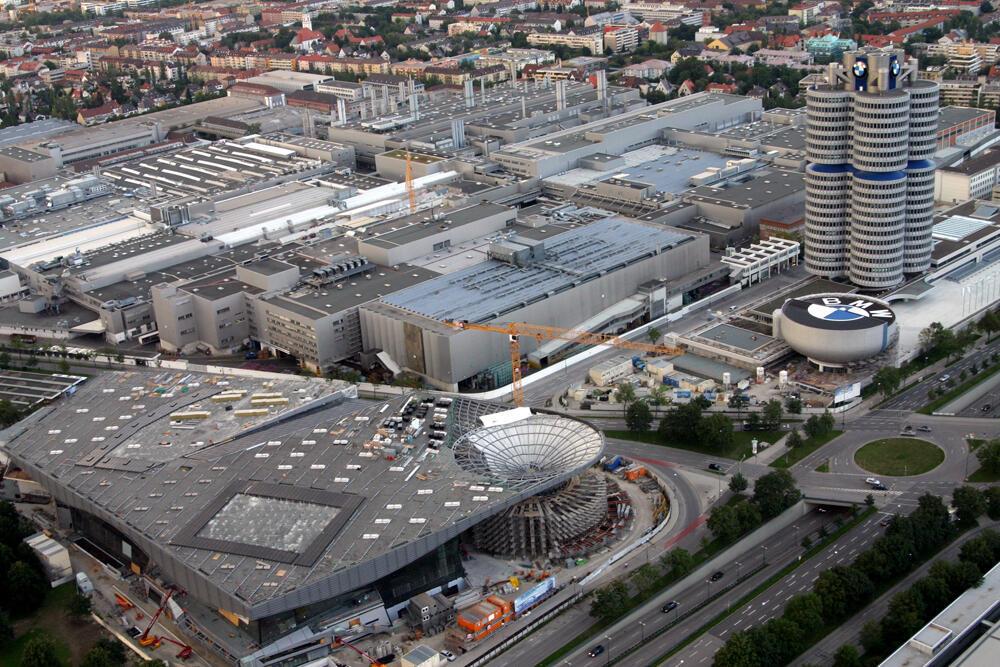 位于慕尼黑的BMW总部