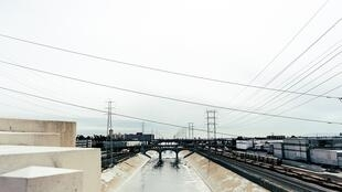 Canal industriel, eaux usées.