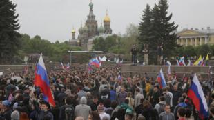 Антикоррупционная акция в Санкт-Петербурге, 12 июня 2017.