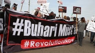 nigeria manifestation buhari journée democratie