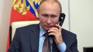 俄罗斯总统普京资料图片